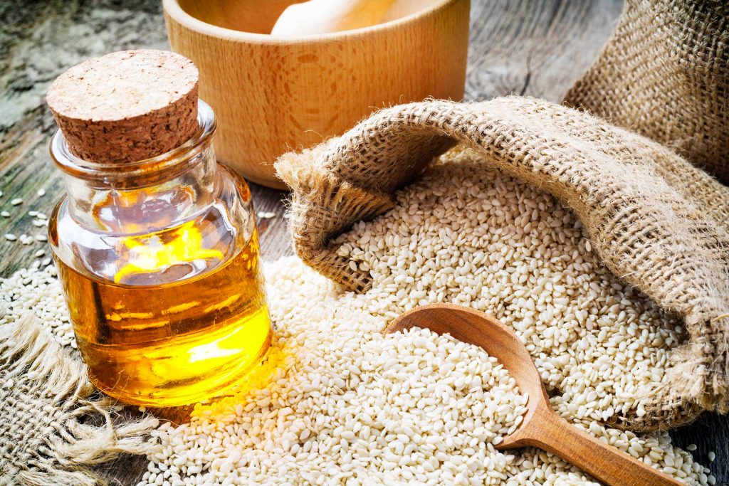 Cold press sesame seed oil